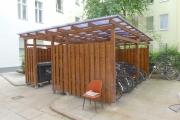 Obj.-Nr. 03200602-604 - Innenhof Fahrrad- Müllplatz