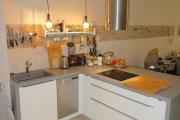 Obj.-Nr. 04190701 - Einbauküche Inselkochfeld