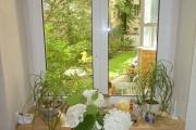 Obj.-Nr. 04190701 - Essbereich Blick in den Garten