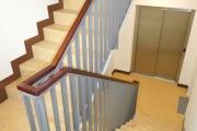 Obj.-Nr. 05191101 - Treppenhaus zum Aufzug