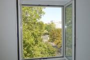 Obj.-Nr. 11190804 - Wohn- Schlafzimmer Fenster-Ausblick