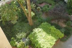 Obj.-Nr. 11200803 - schöner grüner Innenhof Vogelperspektive
