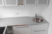 Obj.-Nr. 09180101 - EBK Kühlschrank Spüle