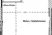 Obj.-Nr. 09190205 - Grundriss mit Wfl.-Berechnung