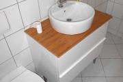 Obj.-Nr. 17180405 - Wannenbad WC-Waschbereich